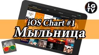 """iOS Chart#1 - Все сериалы, как на ладони и бесплатно [Обзор приложения """"Мыльница""""]"""