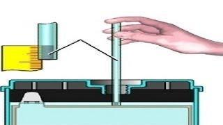 Как проверить уровень электролита