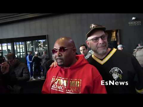 Leonard Ellerbe Address Was He Going To Get Hood With AB Over Insults EsNews Boxing
