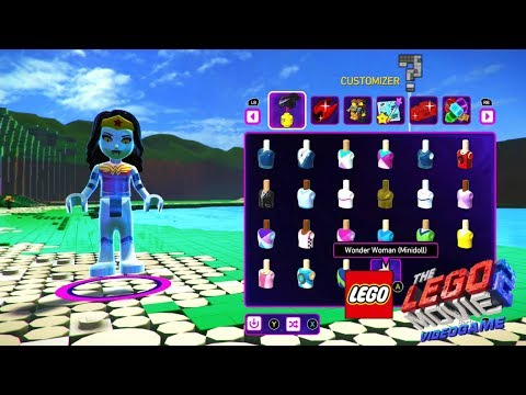 The Lego Movie 2 Videogame Character Creation And How To Save Them Youtube
