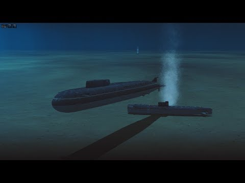Cold Waters  - The North Atlantic Mission IV  - Oscar-class Sub.