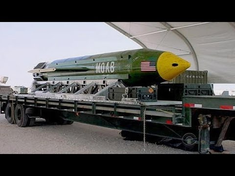 """United States drops """"mother of all bombs"""" in Afghanistan"""