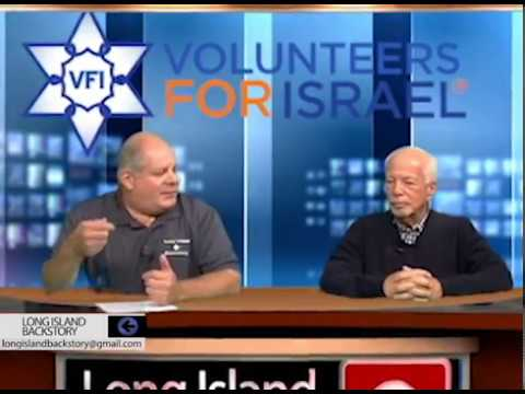 Eric Steinberg, board member for Volunteers For Israel on Long Island Backstory