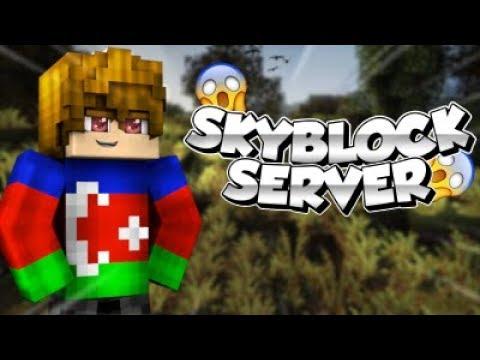 Minecraft Premiumsuz Efsane SkyBlock Serveri