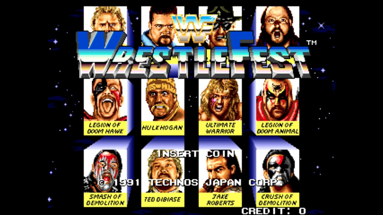 Image result for wwf wrestlefest