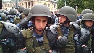 07 Митинг 09.09 Петербург против пенсионной реформы.