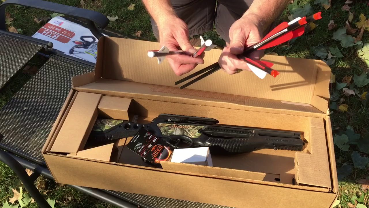 Barnett Crossbow Jackal what's in the Box Review