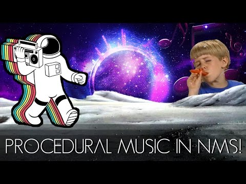 PROCEDURAL MUSIC in No Man's Sky!