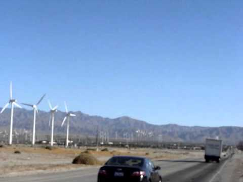 Wind Farm in Palm Springs California
