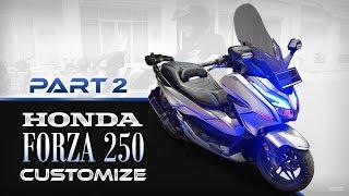 Honda Forza 250 #2 - Customize