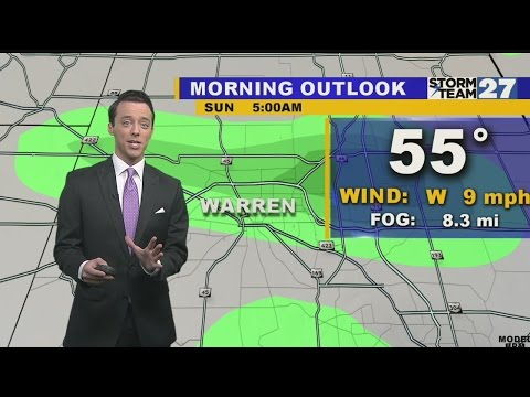 Warren Weather: Drying out for Sunday