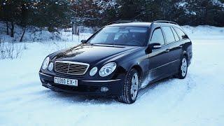 SNOW DRIFT Mercedes-Benz w211 live