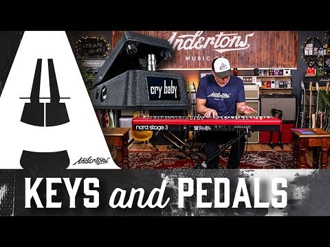 Keys & Pedals - Nord Stage 3 and Cry Baby Mini