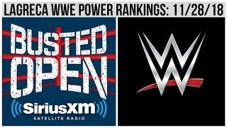 Dave LaGreca WWE Power Rankings: 11/28/18