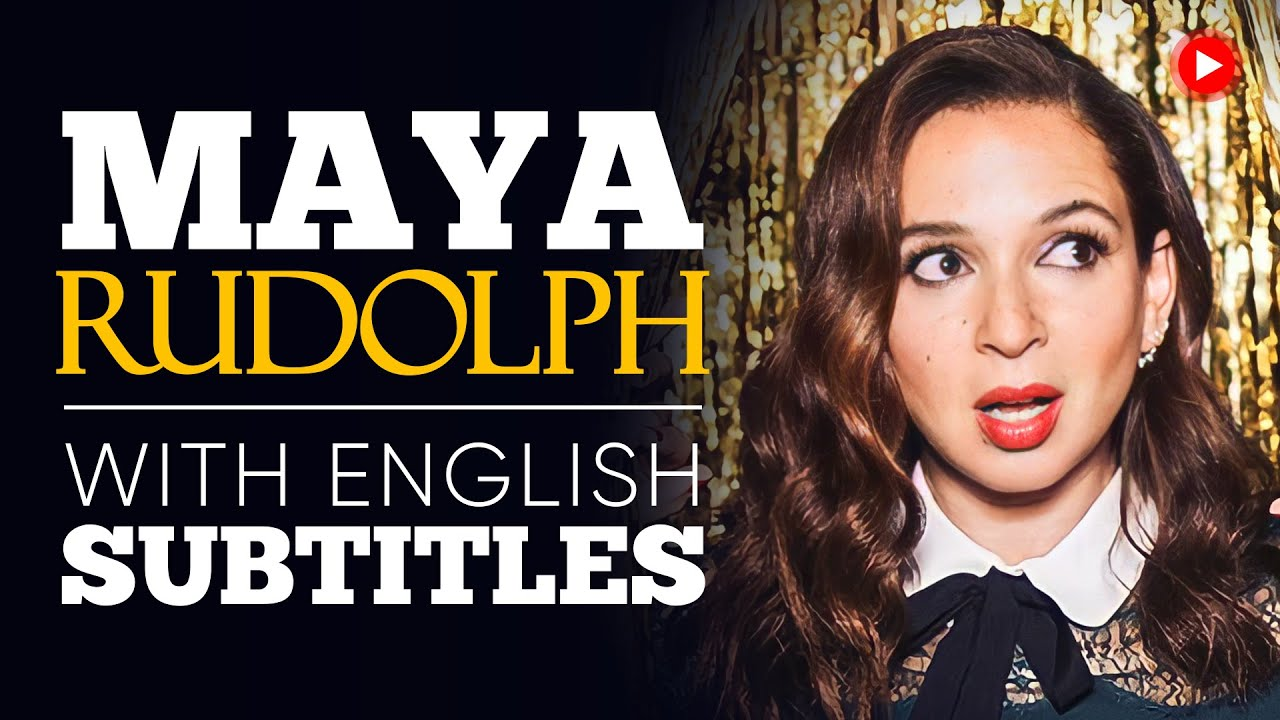 ENGLISH SPEECH | MAYA RUDOLPH: Say Yes (English Subtitles)