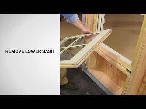 Sash Replacement on E-Series Double-Hung Windows | Andersen Windows