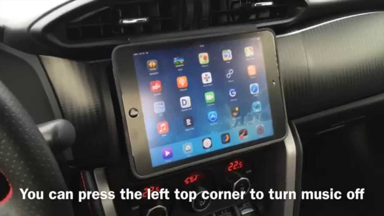How To Integrate Apple Ipad Mini Into Car S Dashboard
