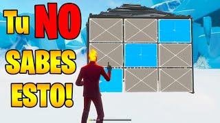 7 TIPS y TRUCOS PRO en FORTNITE que tu NO SABES! 🚫 Ender Recarged