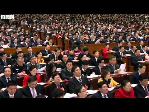 BBC News   China's premier addresses National People's Congress