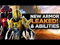 Anthem Leaks   New Armor, Melee Weapon Tease, and New Abilities