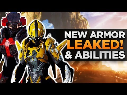 Anthem Leaks | New Armor, Melee Weapon Tease, and New Abilities