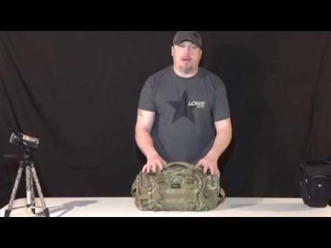 SHANGRI-LA Tactical Assault Gear Sling Pack Range Bag Hiking Fanny Pack - Review