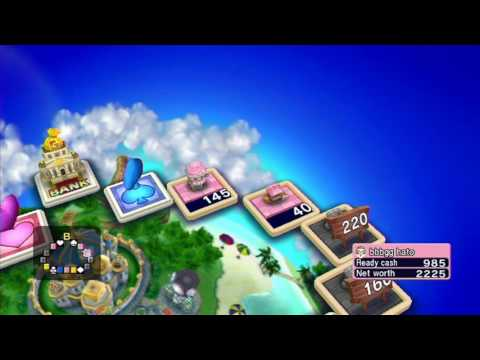 Fortune Street Initial Gameplay (2011, Square Enix)