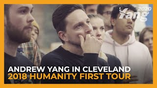 Andrew Yang in Cleveland | 2018 Humanity First Tour
