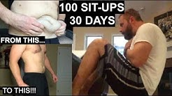 100 Sit Ups A Day for 30 Days