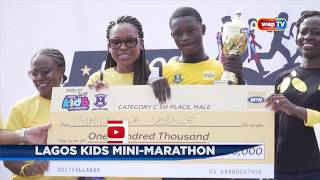 Lagos Kids Mini-Marathon 2018.
