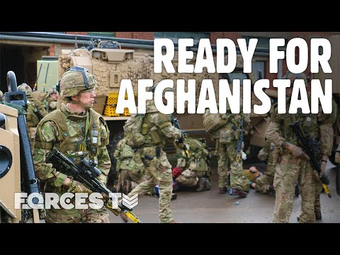 How The Army Prepares For Afghanistan • OP TORAL | Forces TV