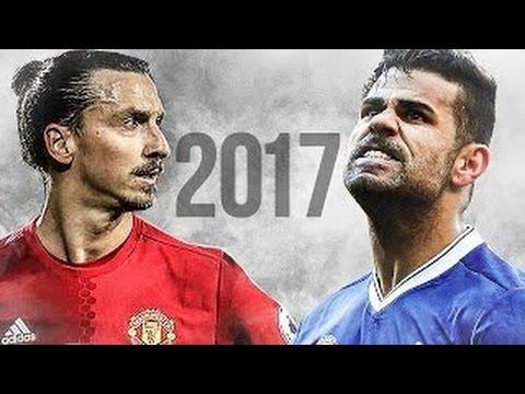 Download Zlatan Ibrahimovic vs Diego Costa 2017 - Crazy Skills & Goals Show 2016/17   1080p   HD