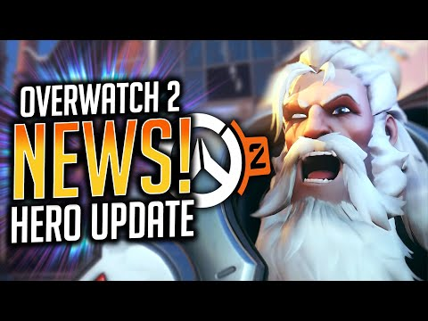 Overwatch 2 NEW Tank and DPS Hero Update! (Buffs and Nerfs!)