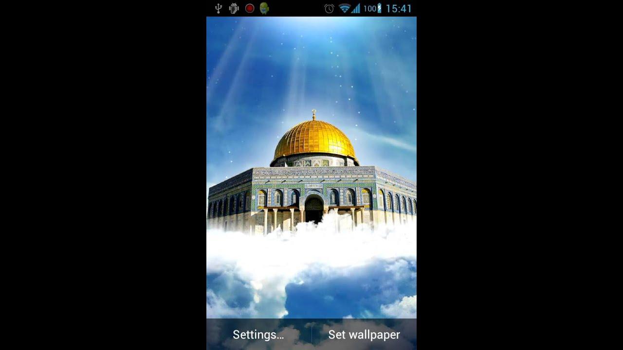 Al aqsa mosque live wallpaper youtube - Al aqsa mosque hd wallpapers ...
