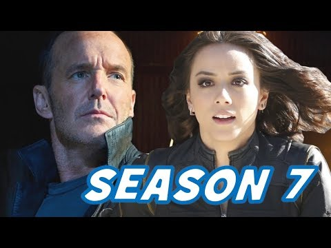 Agents of SHIELD Renewed for a 7th Season!!! Clark Gregg's Status Controversy!!!