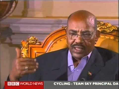 BBC interview with al-Bashir 2fo2