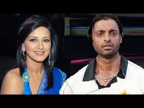 Image result for shoaib akhtar with sonali bendre