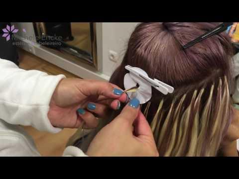 Extensões de cabelo