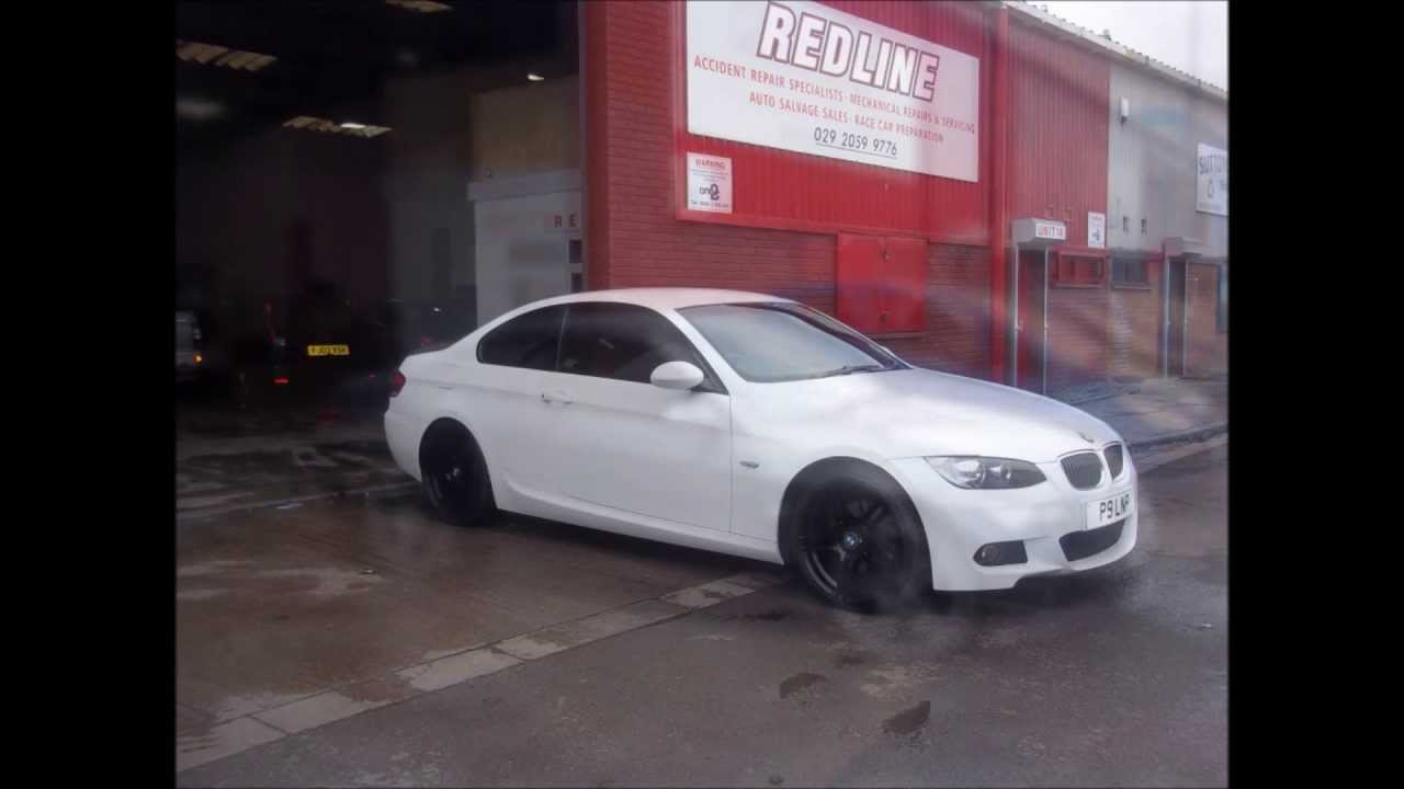 redline cardiff bmw 320d coupe m sport transformation. Black Bedroom Furniture Sets. Home Design Ideas