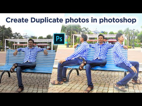 Photoshop Tutorial | How To Clone Yourself in Photoshop | Duplicate an Image in Photoshop thumbnail