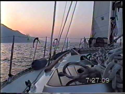Yacht sail Turkey 1999