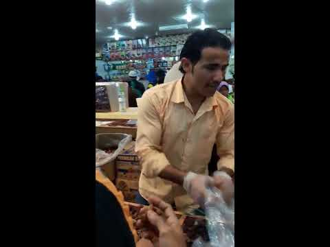 Hebat, penjual Kurma Arab ini mahir sekali Berbahasa Indonesia buat Jamaah Haji takjub