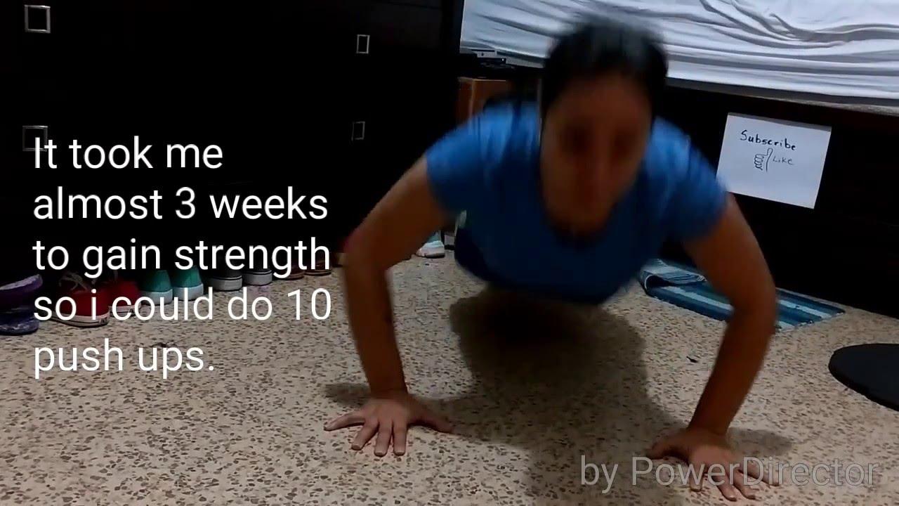Push up Military Female D#4 - YouTube