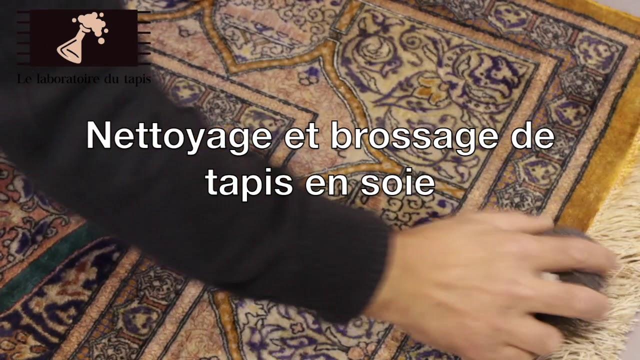 Le laboratoire du tapis nettoyage et brossage de tapis - Nettoyage tapis de soie ...