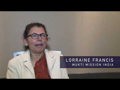 Lorraine Francis at Missions Fest 2017
