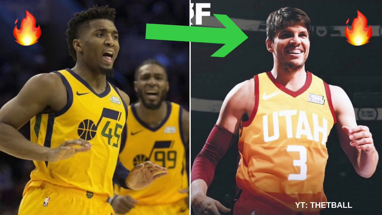 finest selection 4540e aa424 Breaking Down How Kyle Korver Fits With the Utah Jazz | Trade From Cavs to  Help Donovan Mitchell!