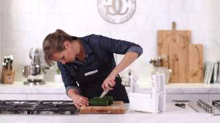 How to Spiralize with the Paderno 4-Blade Spiralizer