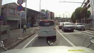 【ドライブレコーダー】違法駐車に投げつけ thumbnail