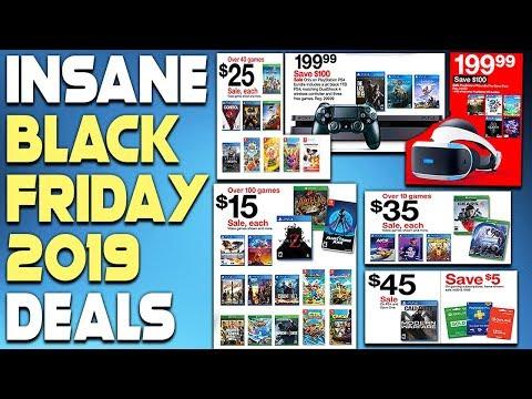 INSANE PS4 BLACK FRIDAY 2019 DEALS REVEALED - SUPER CHEAP PS4 GAMES, PSVR + MORE!