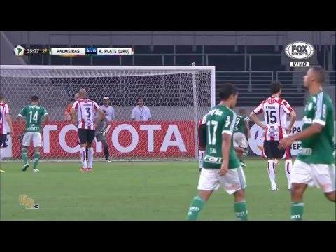 Gols Palmeiras 4 x 0 River Plate (URU) - Libertadores 2016